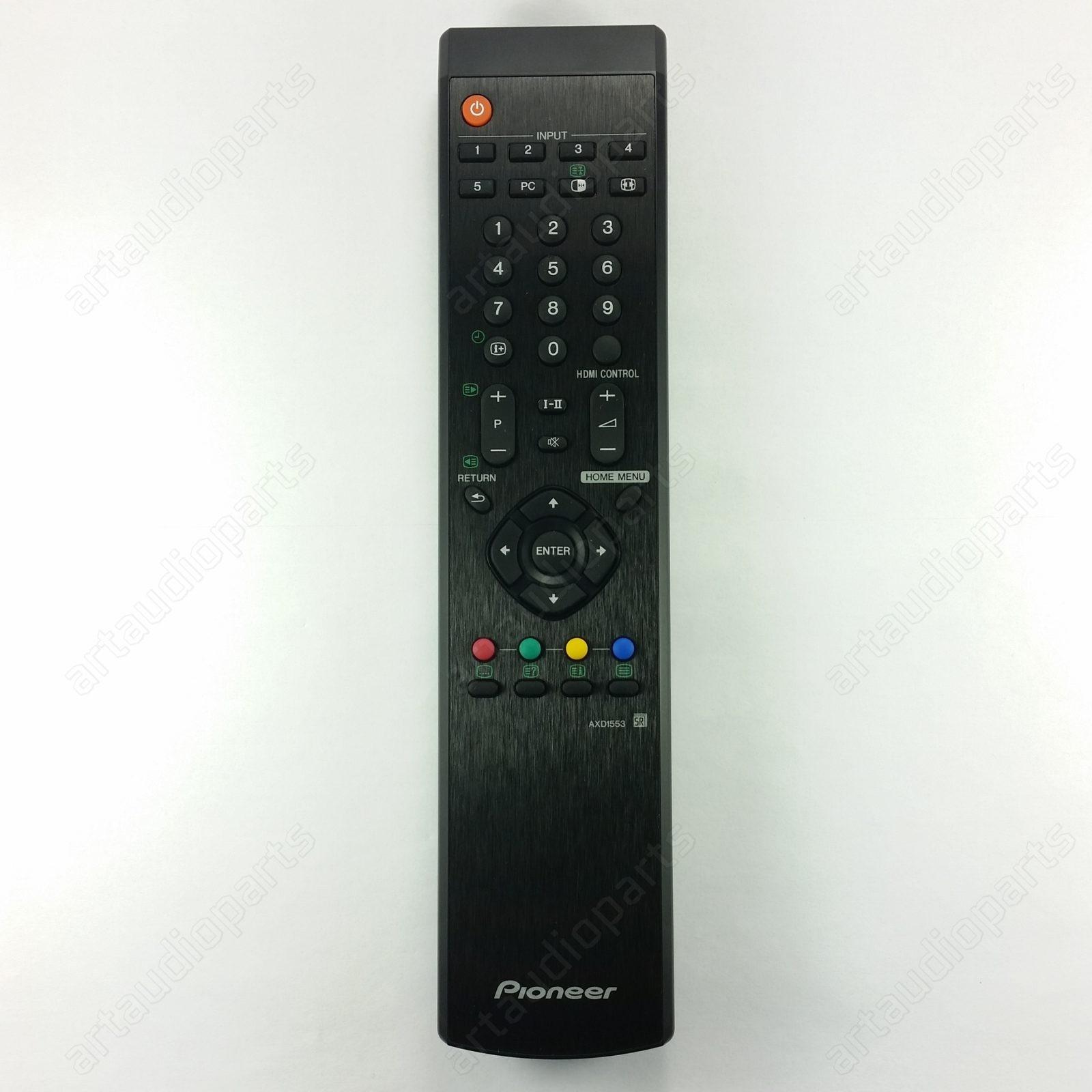 AXD1553 Remote Control for Pioneer PDP-4280XA PDP-5080XA PDP-SX4280D ...