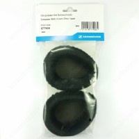 Black velour Earpads-foam disc (1 pair) for Sennheiser HD500A HD570 HD575 HD590