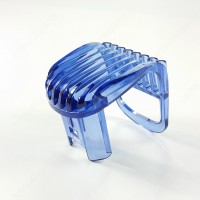 Small plastic blue trimmer comb for PHILIPS shaver QT4002 QT4003