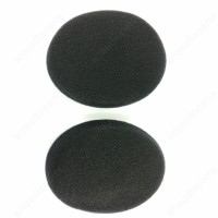 Black Earpads with foam disc for Sennheiser HDR120 RS110 RS110-8II RS115 RS116-9