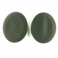 Black leathette Earpads with foam pad for Sennheiser HD428 HD429 HD448 HD449