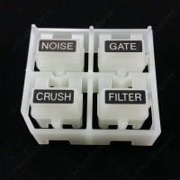 DAC2837 Noise gate crush filter Button for Pioneer DJM 850