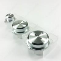 DAC2876 Play pause cue shift Button knob silver for Pioneer XDJ AERO