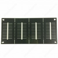 DAH2426 Channel fader Face metal Plate CHF Panel for Pioneer DJM 800 (OP)