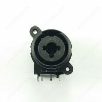 MIC Canon Connector XLR for Pioneer DJM2000 DJM850K DJM900NXS DJMT1 XDJRX