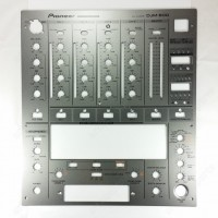 DNB1139 Silver Front Plate indicating Panel for Pioneer DJM-600 Silver