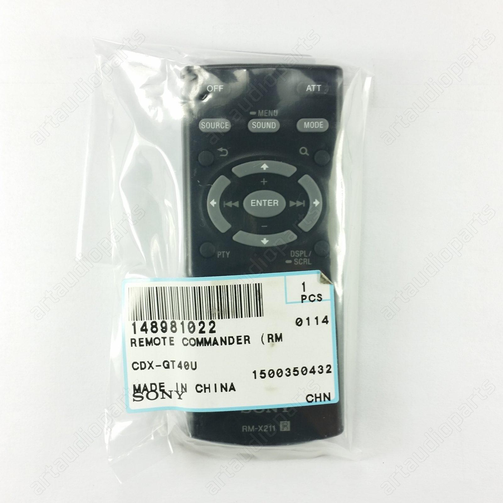 RM-X211 Fernbedienung für SONY CDX-G1150U CDX-G1151U CDX-G1152U CDX-G1000U