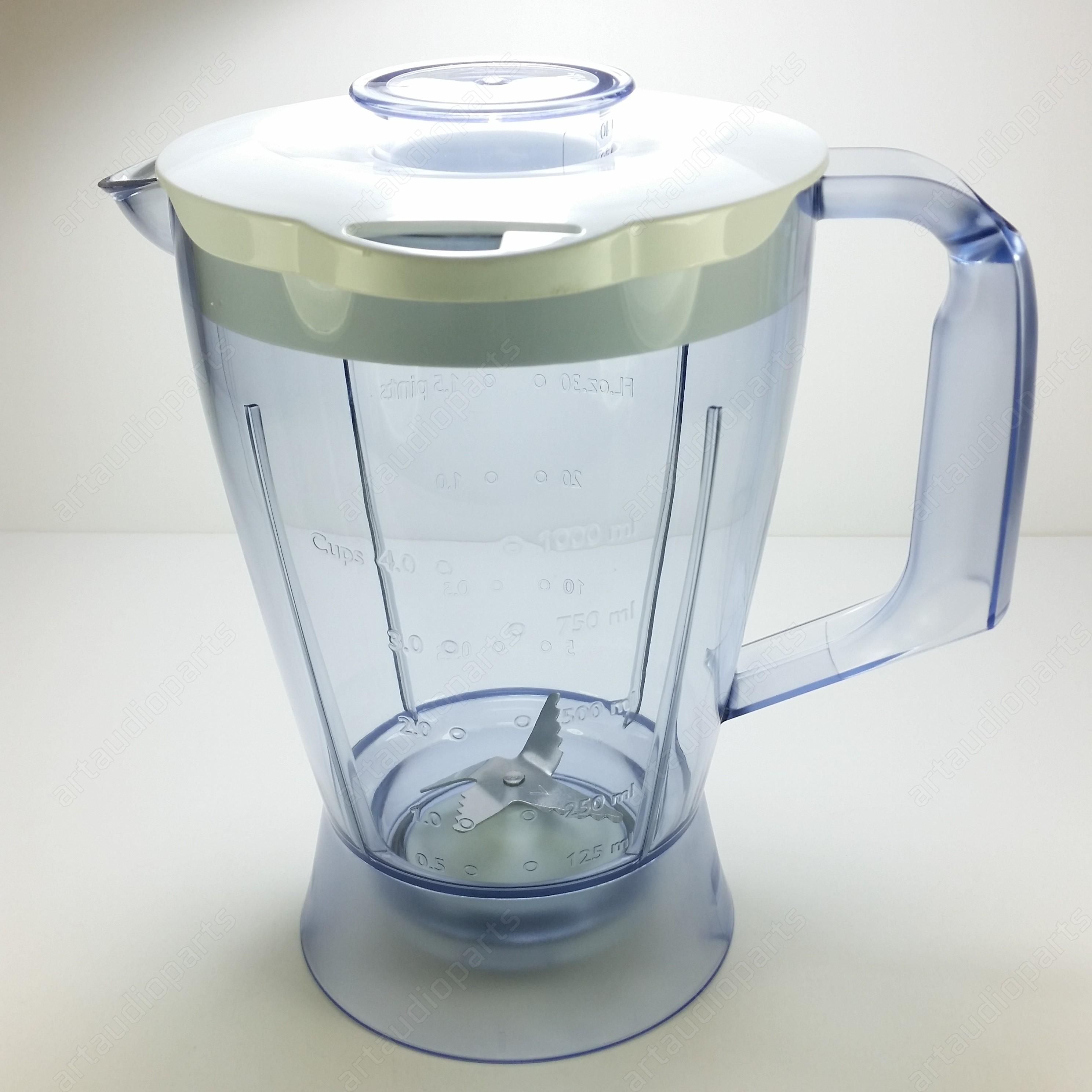 More Views. Blender Jar Jug for PHILIPS Food Processor HR7620 ...